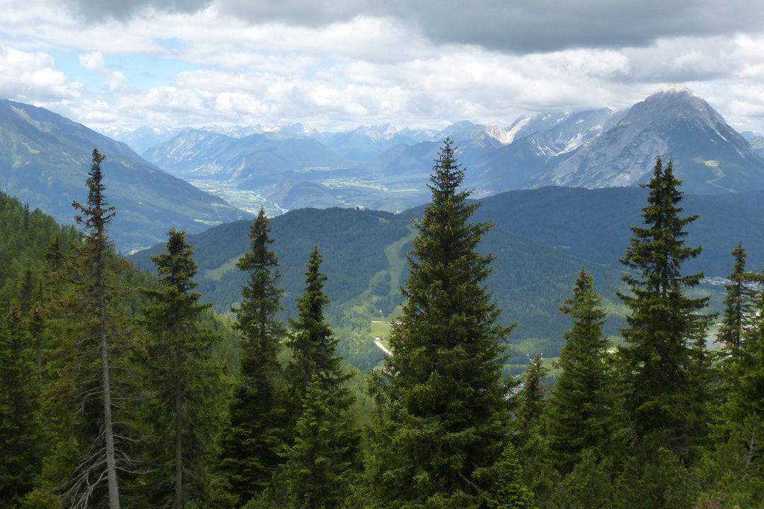 Aussicht Seefelder Plateau
