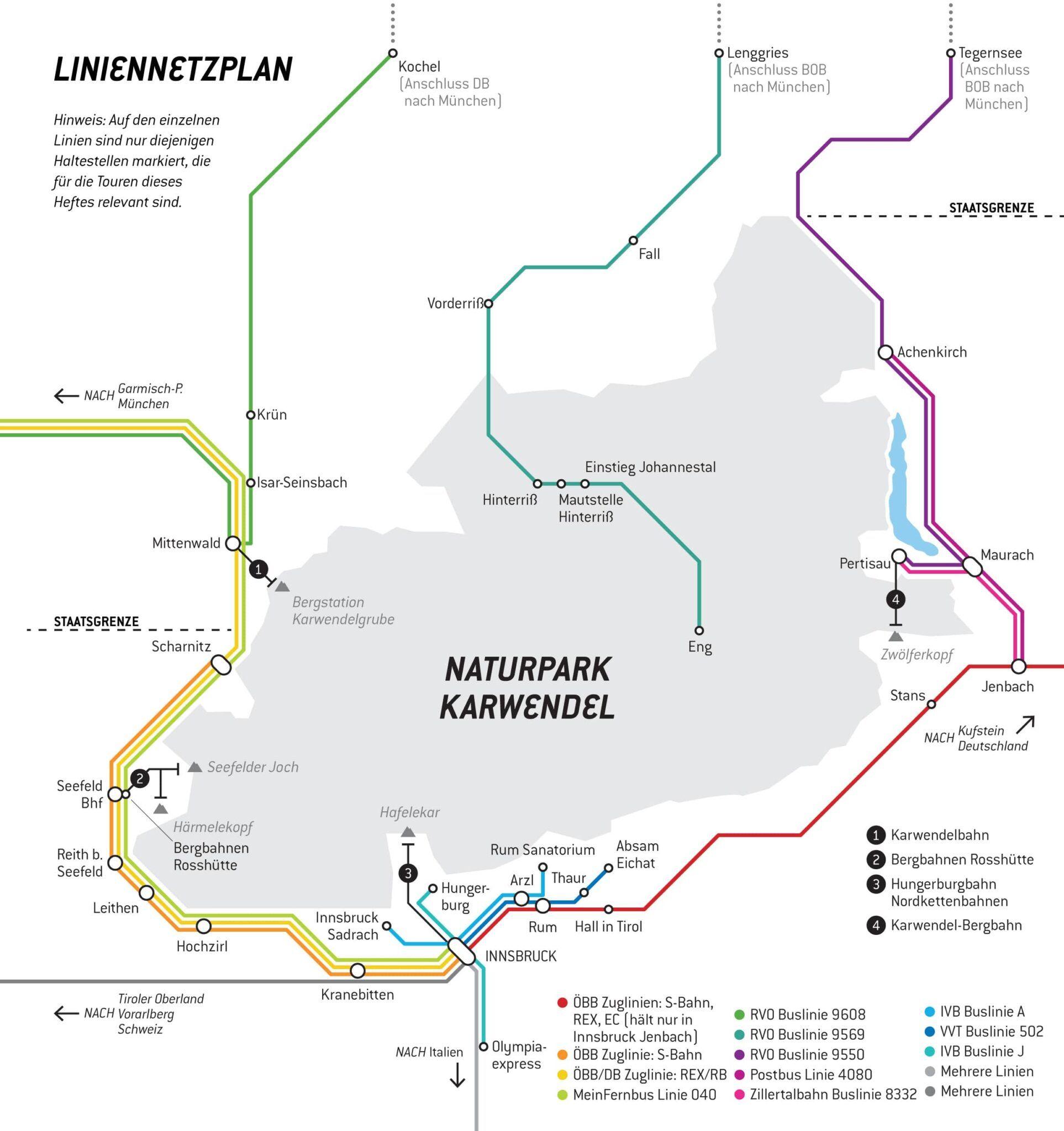 Anreise Karwendel Mit Bahn Bus Oder Auto Karwendel